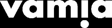 Vamia logo white