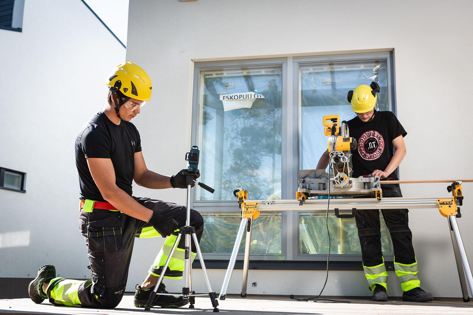 Kolme pointtia rakennustyömaiden turvallisuudesta!